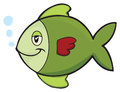 Green fish Stock Images