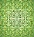 Green floral background vector Royalty Free Stock Photo