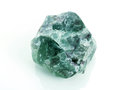 Green Fluorite. Stock Photo