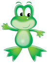 Green frog Stock Images