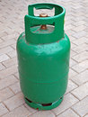 Green gas bag Stock Photography