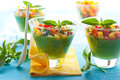 Green Gazpacho Royalty Free Stock Image