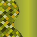 Green geometrical pattern Royalty Free Stock Photo