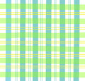 Green Gingham Plaid Royalty Free Stock Image