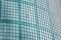 Green glass facade Royalty Free Stock Image