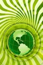 Green Global Design Stock Photos
