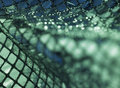 Green glossy sequined back Stock Photos