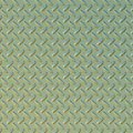 Green and gold diamond plate Stock Photos