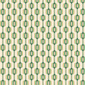 Green and Gold Retro Pattern Royalty Free Stock Image