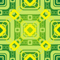 Green graphic pattern Royalty Free Stock Image