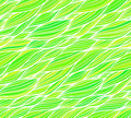 Green grass doodle hair seamless pattern vector Royalty Free Stock Image