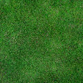 Green grass field for football Stock Photo