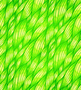 Green grass hair vector seamless pattern doodle Stock Photo