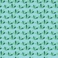 Green grass seamless background. Floral green pattern