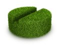 Green grass tab medicine from herbal medicine concept Royalty Free Stock Photography
