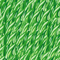 Green grass(vector seamless) Royalty Free Stock Images