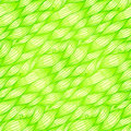 Green grass waves vector seamless pattern doodle Royalty Free Stock Photography