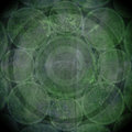 Green Grunge Abstract Background Stock Photography