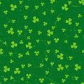 Green grunge clover backgrounds Royalty Free Stock Photo
