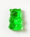 Green Gummy bear Royalty Free Stock Photo