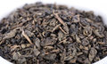 Green gunpowder tea Royalty Free Stock Photo
