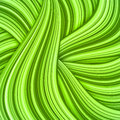 Green hair waves abstract background Royalty Free Stock Photo
