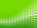 Green halftone background Royalty Free Stock Photography