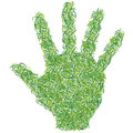 Green hand Stock Photos