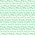 Green heart seamless pattern packaging paper background