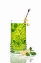 Green ice tea Royalty Free Stock Photo