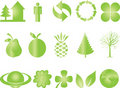 Green Icon Royalty Free Stock Photography