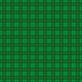 Green Irish Tartan Pattern Royalty Free Stock Photo