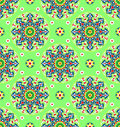 Green Islamic Pattern Royalty Free Stock Images