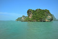 Green island in andaman sea thailand Stock Photography