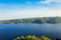 Green island Korcula, Croatia Royalty Free Stock Photo