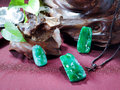 Green jade Stock Images