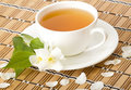 Green jasmine tea Stock Photos