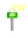 Green key Royalty Free Stock Photo