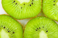 Green kiwi fruit Royalty Free Stock Photography