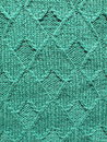 Green knitted abstract Royalty Free Stock Image
