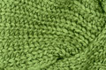 Green knitted pullover background Stock Image