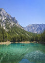 Green lake in styria austria Stock Photos