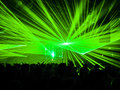 Lasers in Nightclub Party Royalty Free Stock Photo