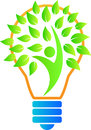 Green leaf bulb