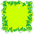 Green leafy floral background Royalty Free Stock Image