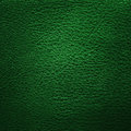 Green leather texture or background close up Stock Photos
