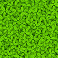 Green leaves vector seamless pattern this is file of eps format Royalty Free Stock Images