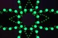 Green LED Royalty Free Stock Photo