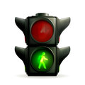 Green light Royalty Free Stock Photos
