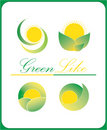 Green like logos Royalty Free Stock Photos